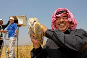 Jordanian with owl s