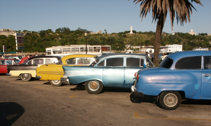 Vintage cars in Old Havana