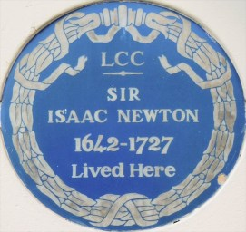 Isaac Newton blue plaque.jpg
